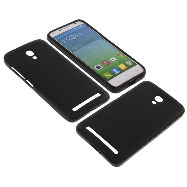 Funda para alcatel one touch idol 2 mini s tel fono m vil carcasa tpu negro - Fundas alcatel one touch idol ...