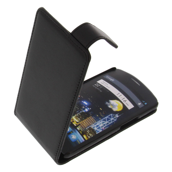 Funda para alcatel one touch idol protectora tel fono m vil con tapa negro ebay - Fundas alcatel one touch idol ...