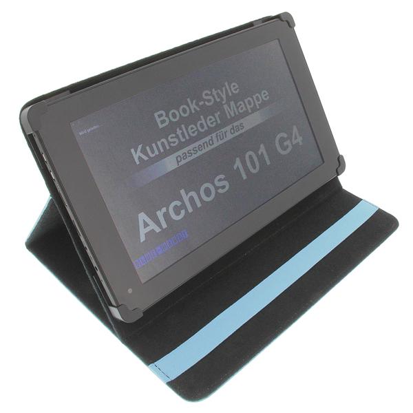Housse pour archos 101 g4 style livre tablette tui for Housse archos 101