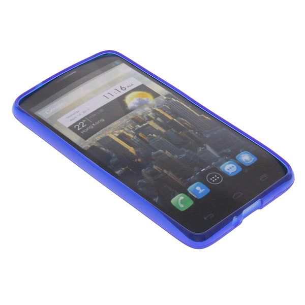 Funda para alcatel one touch idol carcasas protectoras silicona sillicona azul ebay - Fundas alcatel one touch idol ...