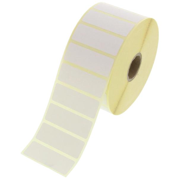 1600 Etiketten je Rolle 70 x 30 mm Thermo Papier weiß permanent klebend NEU